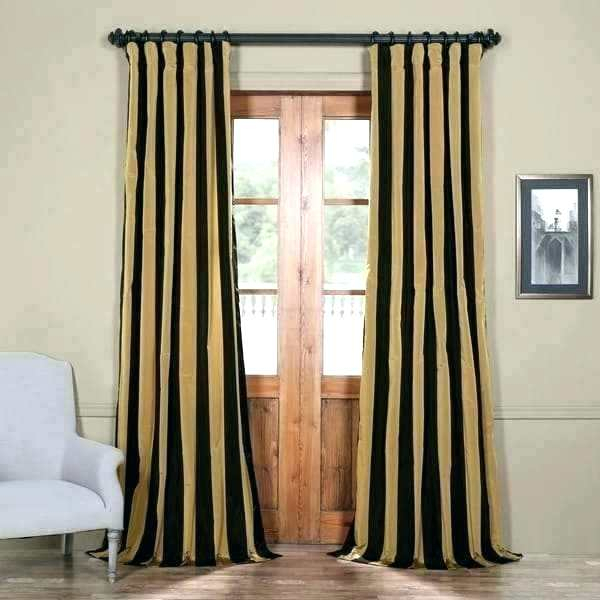 Black Damask Curtains – Himvalleymanali (#8 of 50)