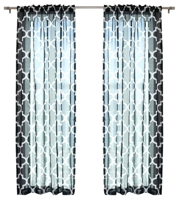 Black Panel Curtains – Feriaespiritualmente Within Warm Black Velvet Single Blackout Curtain Panels (#6 of 48)