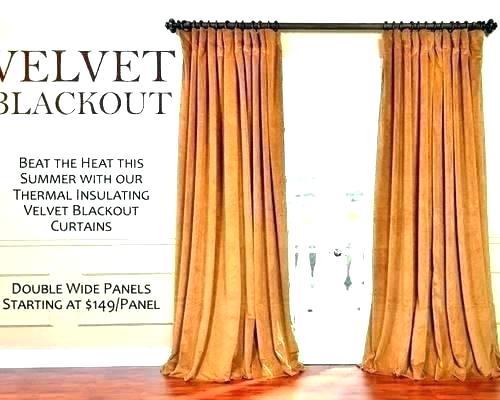Black Velvet Curtains – Cheshiredating (#10 of 48)