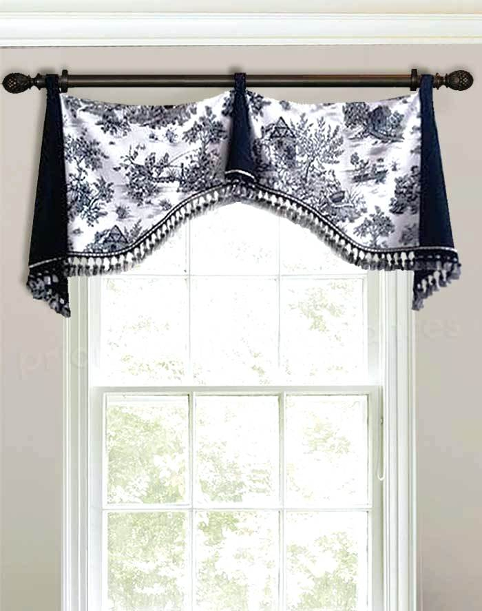 Black White Curtain Valance Shop Lace Luxurious Old World Inside Luxurious Old World Style Lace Window Curtain Panels (View 48 of 50)
