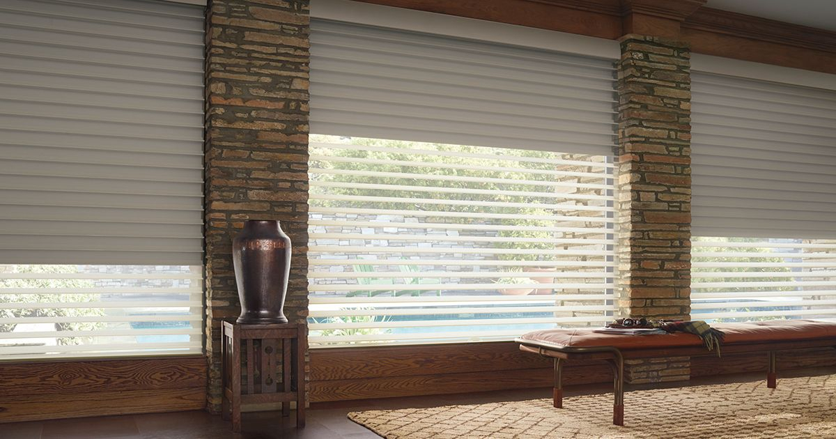 Blackout Blinds   Blackout Shades   Room Darkening Shades With Double Layer Sheer White Single Curtain Panels (#14 of 50)