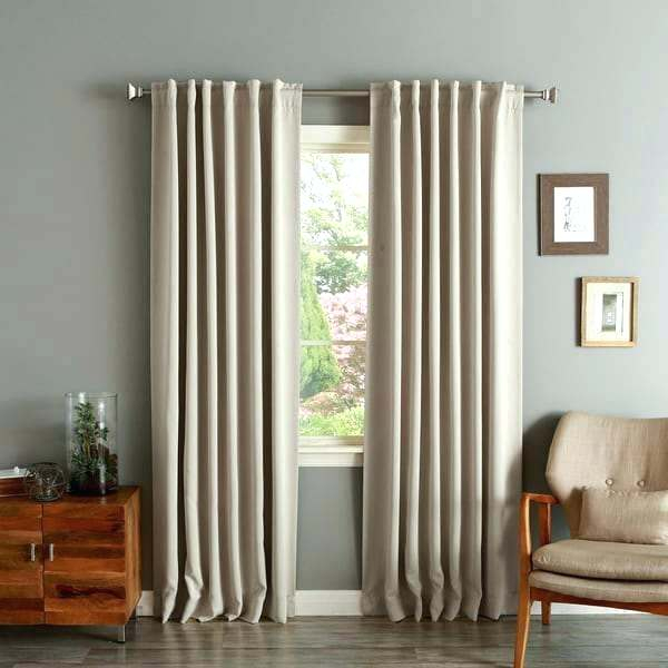 Blackout Curtain Panels Curtains Inches Long Inch Length For Twig Insulated Blackout Curtain Panel Pairs With Grommet Top (#16 of 50)