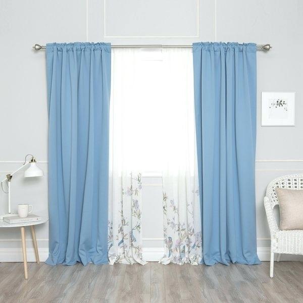 Blackout Curtain Set – Home Ideas Decor With Mix And Match Blackout Blackout Curtains Panel Sets (#28 of 50)