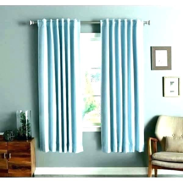 Blackout Curtains Eclipse Meridian River Blue Curtain Panel Pertaining To Meridian Blackout Window Curtain Panels (#8 of 50)