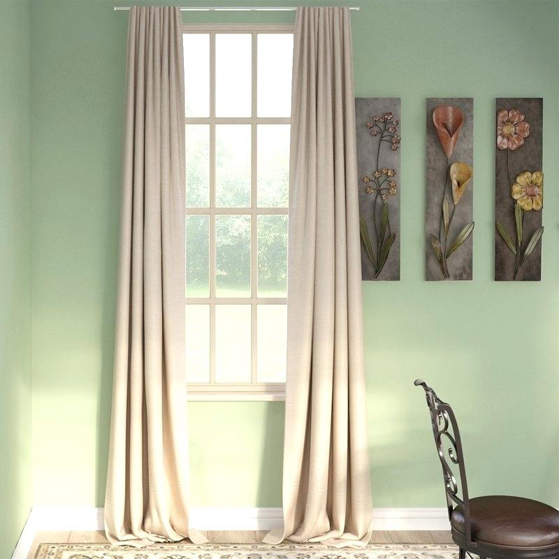 Blackout Curtains Pair Aurora Home Solid Insulated Thermal For London Blackout Panel Pair (#4 of 41)