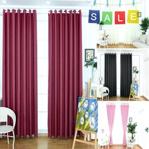 Blackout Curtains Pair – Colorito Pertaining To Thermal Insulated Blackout Curtain Pairs (View 23 of 50)