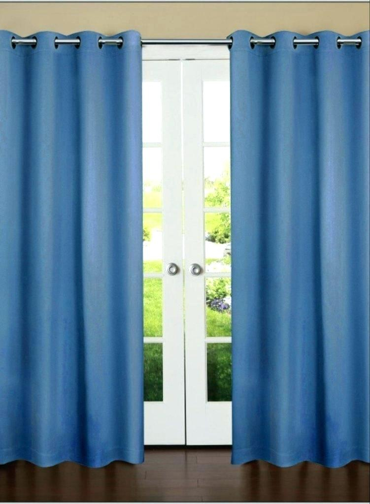 Blackout Door Panel Single Curtain For Sliding Glass Intended For Eclipse Newport Blackout Curtain Panels (View 6 of 41)