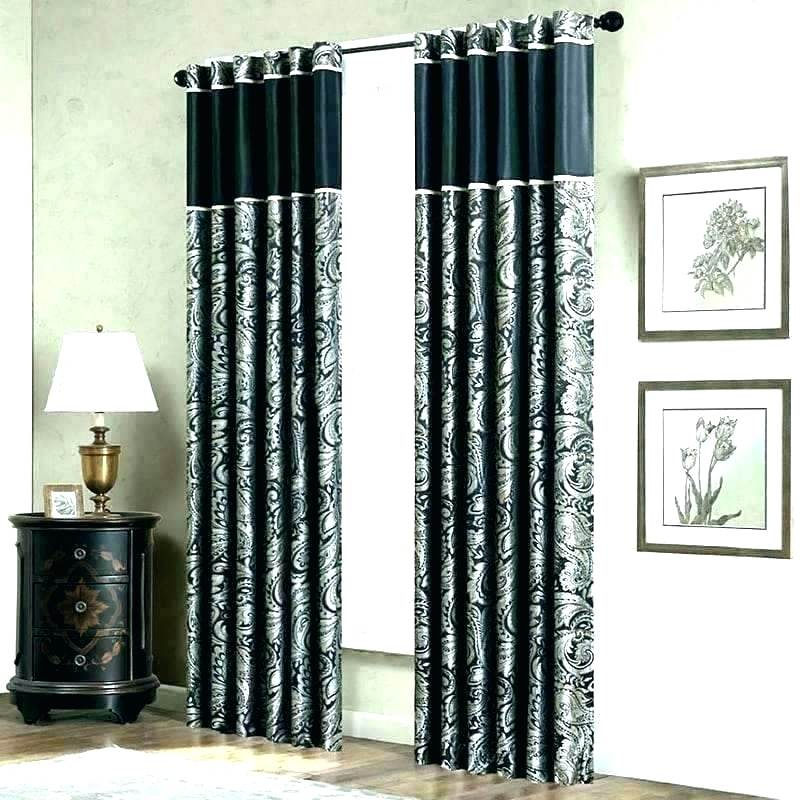 Blackout Drapes Ikea – Art Inspires Throughout Superior Leaves Insulated Thermal Blackout Grommet Curtain Panel Pairs (#12 of 50)
