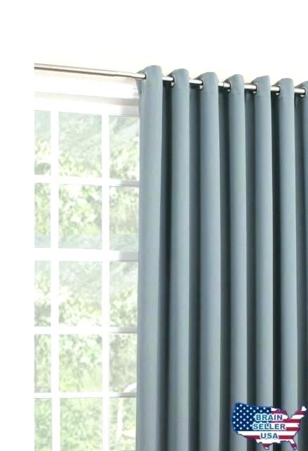 Blackout Patio Curtains – Jelajah In Grommet Blackout Patio Door Window Curtain Panels (View 2 of 50)