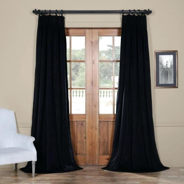 Blackout Velvet Curtains – Youtube Buzz (View 43 of 50)