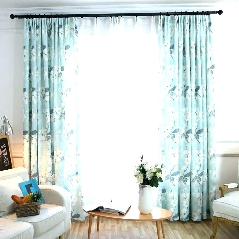 Blue Curtain Panels Light Panel White Floral Curtains Long In Overseas Leaf Swirl Embroidered Curtain Panel Pairs (View 36 of 50)