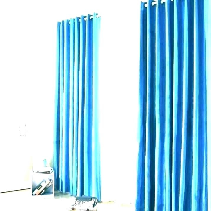 Blue Curtains Teal Curtain Panels Navy Ombre Panel Set Of 2 In Ombre Embroidery Curtain Panels (View 25 of 50)