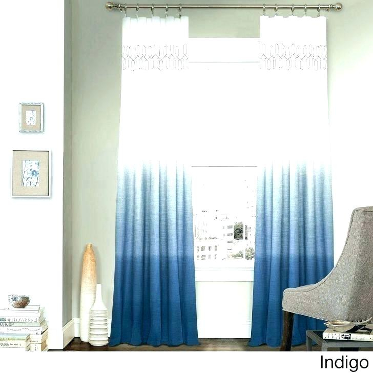 Blue Ombre Curtains – Comesonlus Within Ombre Embroidery Curtain Panels (View 8 of 50)
