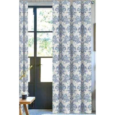 Blue Room Darkening Curtains – Thitirrell (#3 of 41)