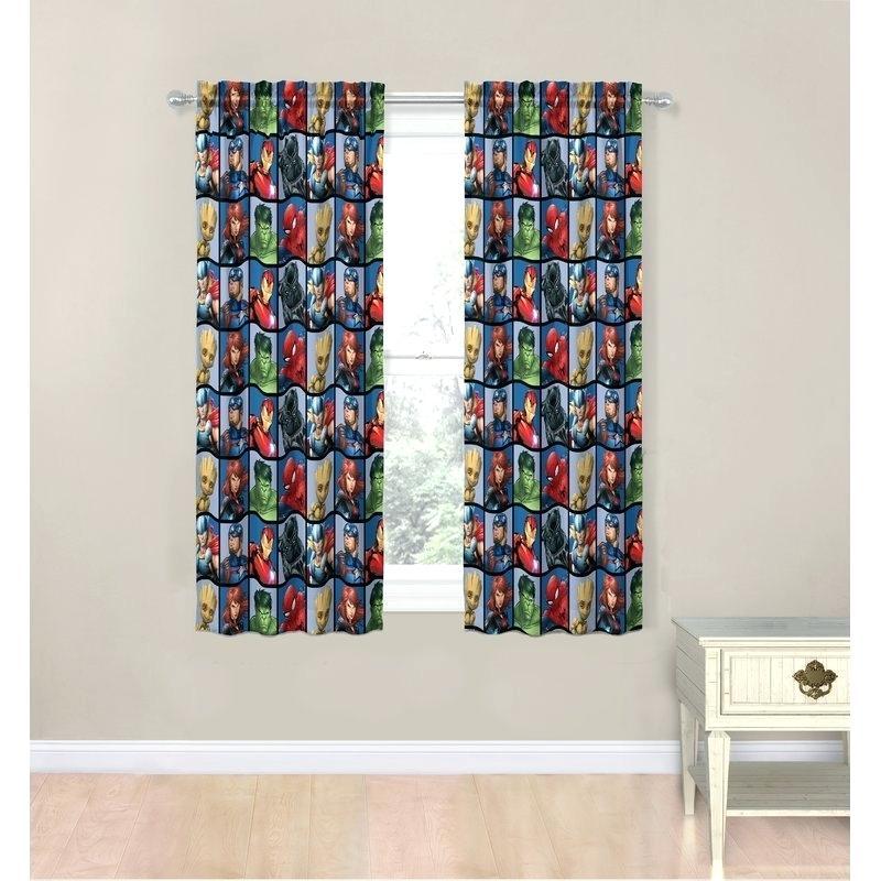 Blue Room Darkening Curtains – Thitirrell (#4 of 41)