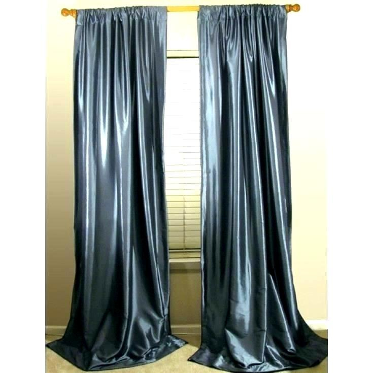 Blue Silk Drapes – Cursodeporteiroonline (View 7 of 50)