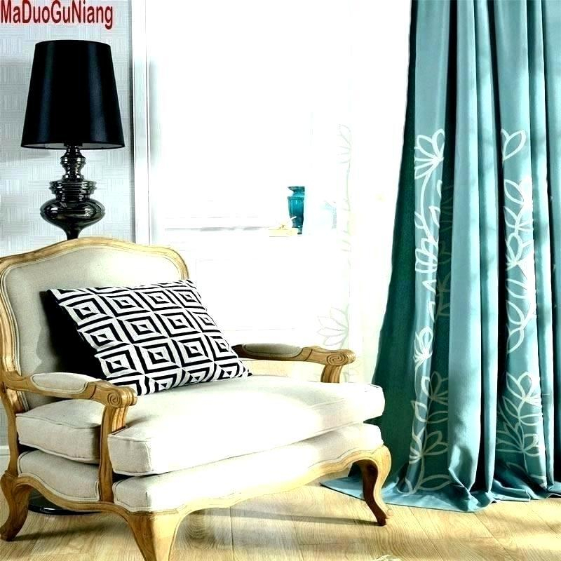 Blue Silk Drapes – Cursodeporteiroonline (View 9 of 50)