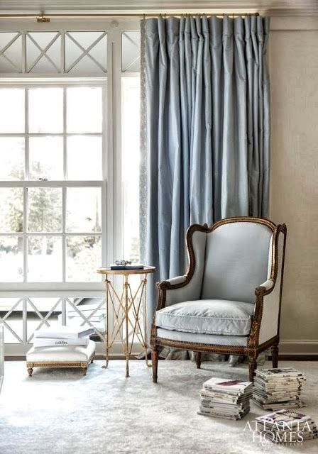 Blue Silk Drapes – Cursodeporteiroonline (View 10 of 50)