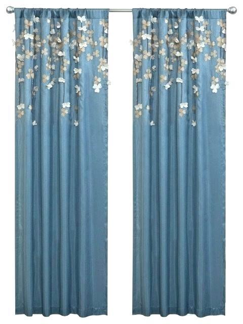 Blue Velvet Curtain Panels – Insuranceuniversity (View 8 of 50)