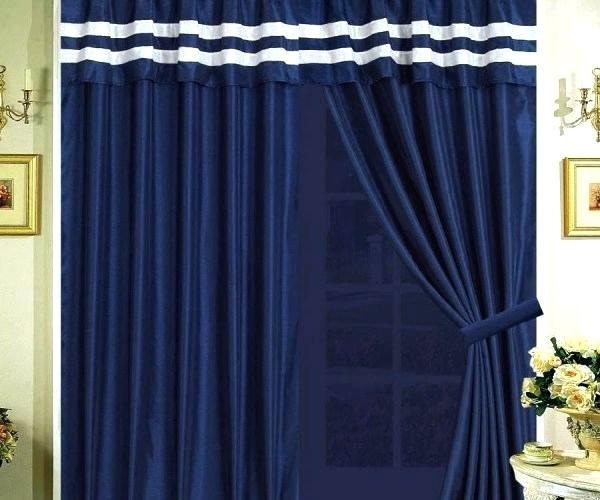 Blue Velvet Curtains – Fresherbs Regarding Heritage Plush Velvet Single Curtain Panels (View 9 of 50)