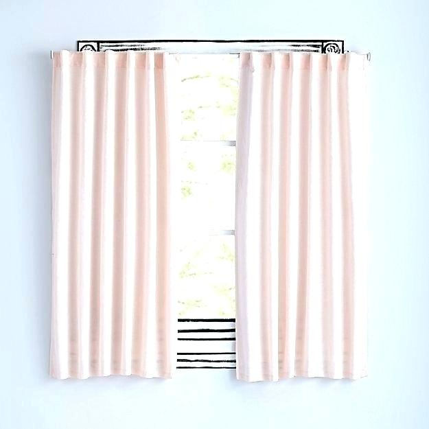 Blush Blackout Curtains Blush Curtain Panels Blush Pink Regarding Insulated Thermal Blackout Curtain Panel Pairs (#18 of 50)