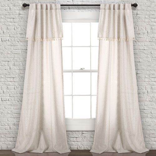Bohemian Panel Pair Curtains And Drapes Free Shipping | Bellacor For Weeping Flowers Room Darkening Curtain Panel Pairs (View 15 of 50)