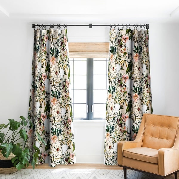 Boho Curtains Canada | Flisol Home Intended For Lambrequin Boho Paisley Cotton Curtain Panels (#7 of 41)