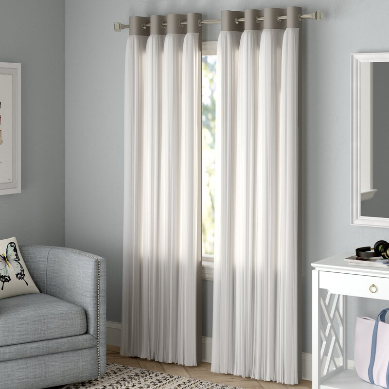 Brockham Solid Max Blackout Grommet Curtain Panels Within Blackout Grommet Curtain Panels (View 22 of 40)