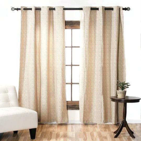 Brown Blackout Curtains Grommet Room Darkening Curtain Pertaining To Grommet Room Darkening Curtain Panels (View 7 of 50)