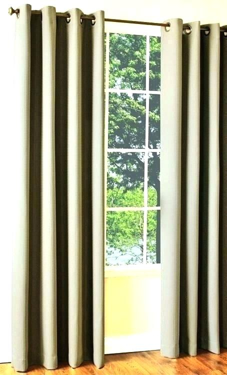 Brown Grommet Curtains Room Darkening Curtain Panel White D Within Grommet Room Darkening Curtain Panels (View 8 of 50)