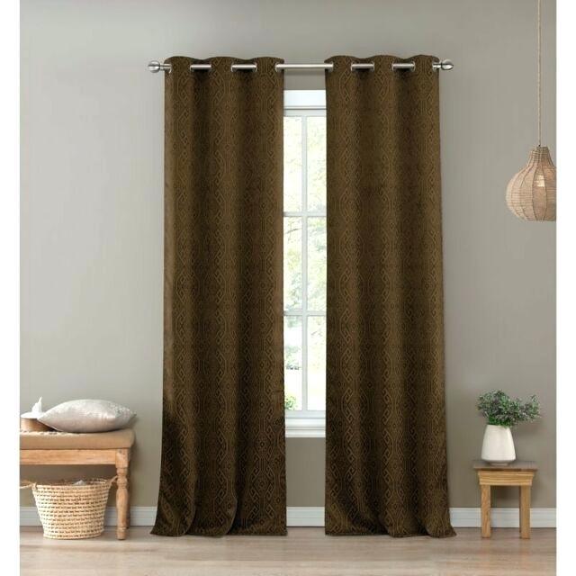 Brown Grommet Curtains – Waxworldwide (View 8 of 50)