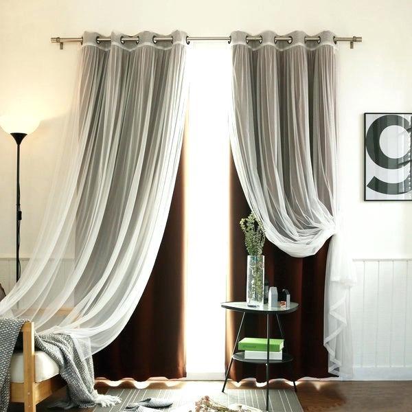 Brown Sheer Curtains – Alarga (#31 of 50)