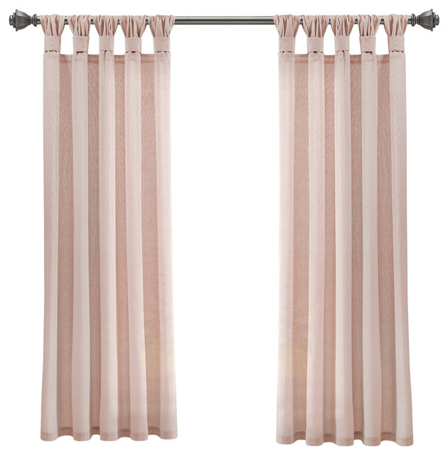 Popular Photo of Knotted Tab Top Window Curtain Panel Pairs