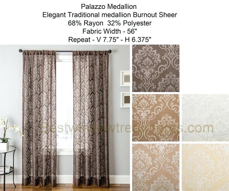 Burnout Sheer Curtains – Aldowaltz (View 10 of 38)