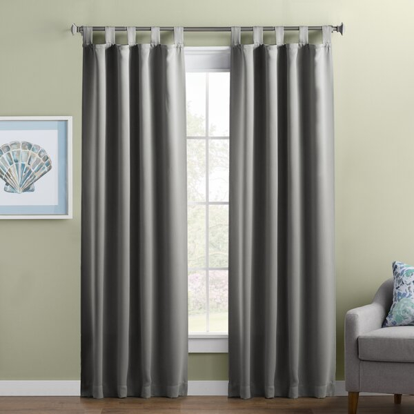 Button Tab Top Curtains | Wayfair Intended For Linen Button Window Curtains Single Panel (#9 of 40)