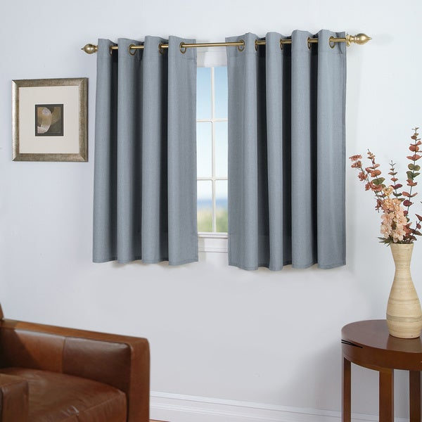 Buy Blue Copper Grove Curtains & Drapes Online At Overstock With Regard To Copper Grove Speedwell Grommet Window Curtain Panels (#6 of 50)