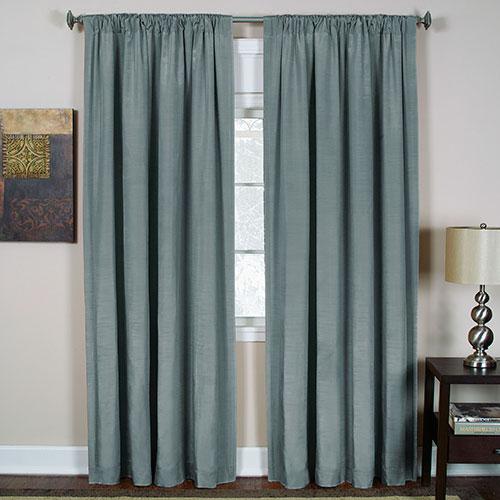 Cachet Room Darkening Curtain Panel – Blue For Grommet Room Darkening Curtain Panels (View 10 of 50)