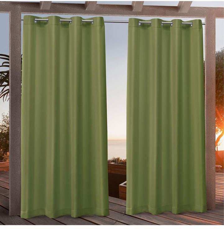 """Canvas Indoor/outdoor Grommet Top 54"""" X 108"""" Curtain Panel Pair Pertaining To Delano Indoor/outdoor Grommet Top Curtain Panel Pairs (View 12 of 45)"""