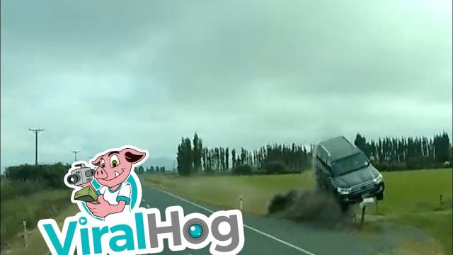 Car Uses Driveway As A Jump || Viralhog – Air (View 35 of 50)