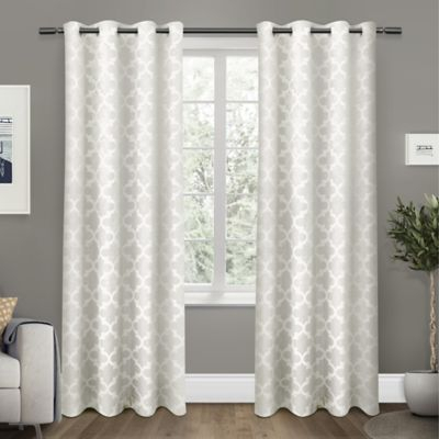 Cartago Grommet Top Room Darkening Window Curtain Panel Pair For Twig Insulated Blackout Curtain Panel Pairs With Grommet Top (View 3 of 50)