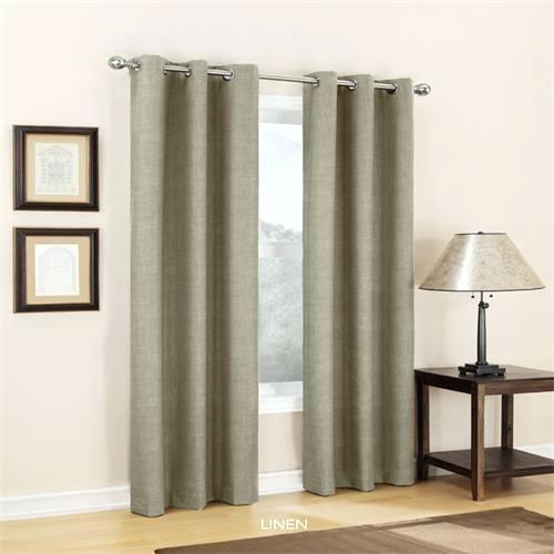 Carter Thermal Grommet Curtain Panels Lined Panel Pertaining To Copper Grove Speedwell Grommet Window Curtain Panels (#7 of 50)