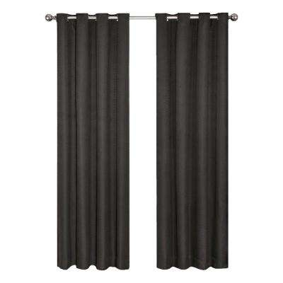 Cassidy Blackout Grommet Curtain Panel Pertaining To Eclipse Caprese Thermalayer Blackout Window Curtains (View 3 of 30)