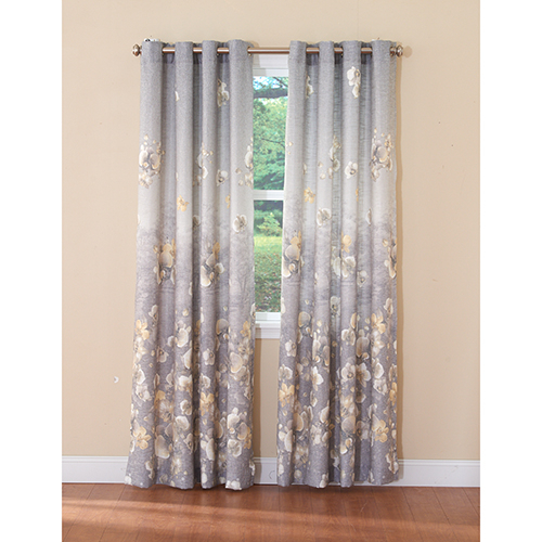 Chamberlain Thermalogic Lined Grommet Curtain Panel For Grommet Curtain Panels (#13 of 39)