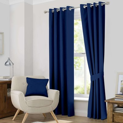 Charlton Home Kaylee Solid Blackout Thermal Grommet Curtain For Superior Solid Insulated Thermal Blackout Grommet Curtain Panel Pairs (#19 of 45)