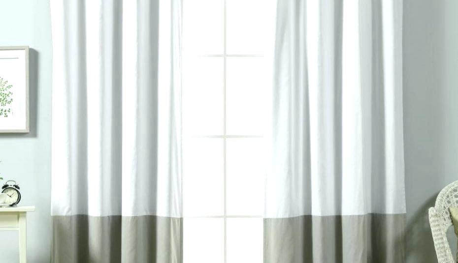Cheap White Sheer Curtains – Binnshot Intended For Signature Extrawide Double Layer Sheer Curtain Panels (#8 of 50)