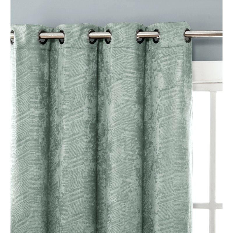 Chevron Grommet Curtains Two Curtain Panels You Pick The In Chevron Blackout Grommet Curtain Panels (View 17 of 50)