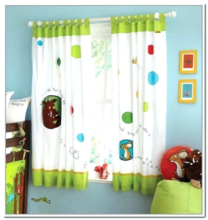Childrens Curtains | Flisol Home In Riley Kids Bedroom Blackout Grommet Curtain Panels (#4 of 28)