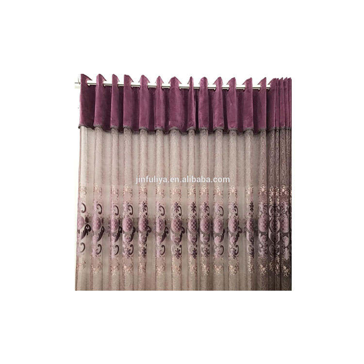 China Chiffon Curtain, China Chiffon Curtain Manufacturers Within Ombre Embroidery Curtain Panels (View 45 of 50)