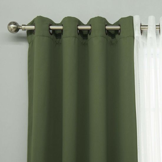 China Moss Home Fashion Mix And Match Tulle Sheer Lace And With Regard To Mix And Match Blackout Tulle Lace Sheer Curtain Panel Sets (#36 of 50)
