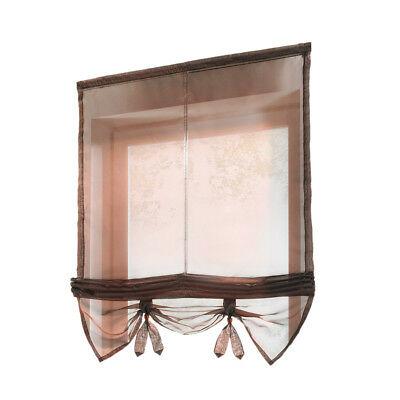 "Classic Hotel Quality 36""w X 54""l Fabric Bathroom Window With Classic Hotel Quality Water Resistant Fabric Curtains Set With Tiebacks (#11 of 50)"